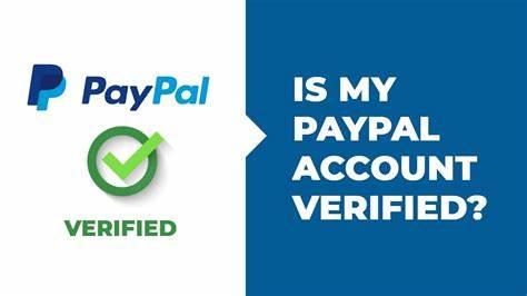 آیا اکانت پی پال من احراز هویت شده است؟